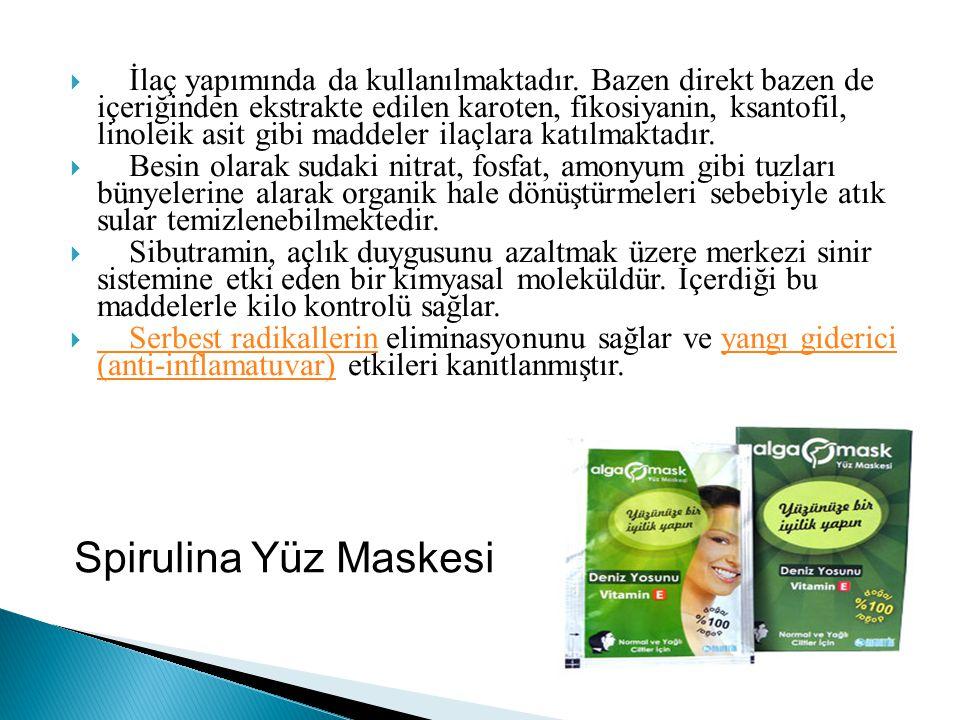 İlaç yapımında da kullanılmaktadır