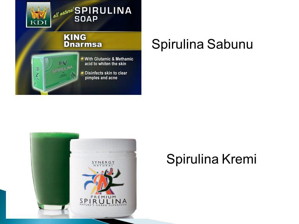 Spirulina Sabunu Spirulina Kremi