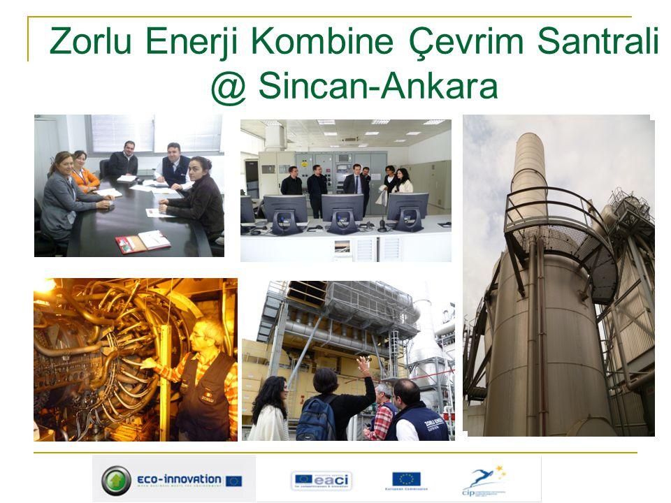 Zorlu Enerji Kombine Çevrim Santrali @ Sincan-Ankara
