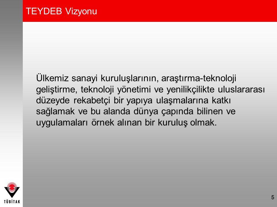 TEYDEB Vizyonu