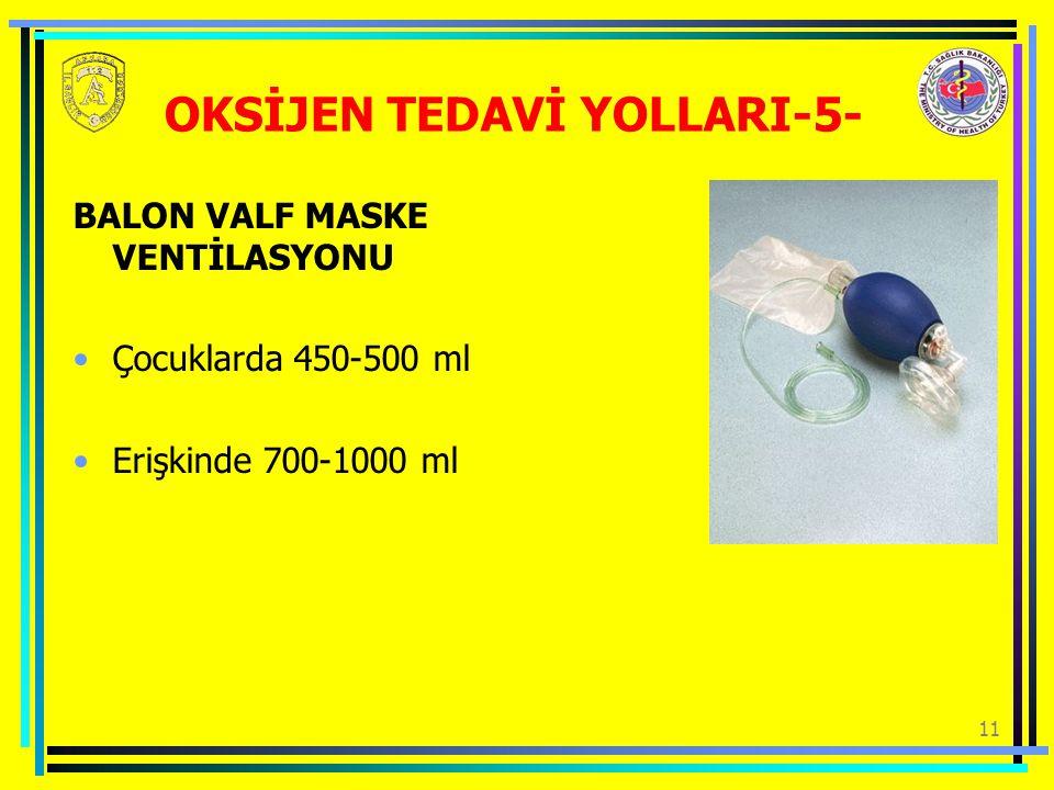 OKSİJEN TEDAVİ YOLLARI-5-