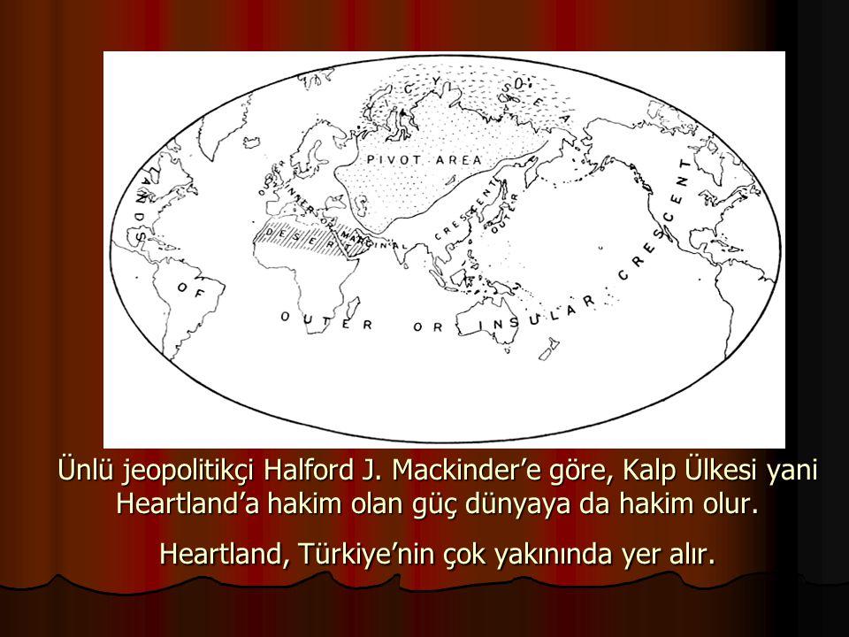 Ünlü jeopolitikçi Halford J