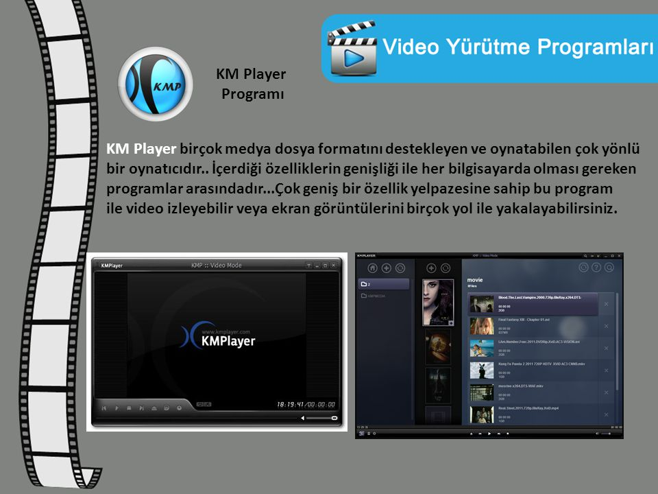 KM Player Programı
