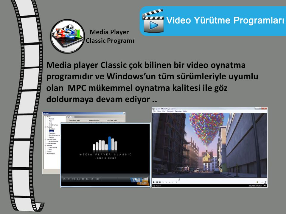 Media Player Classic Programı