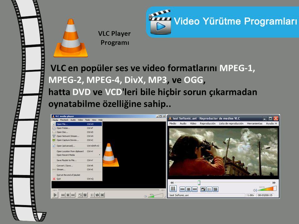 VLC Player Programı