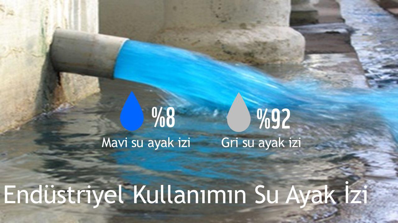 Endüstriyel Kullanımın Su Ayak İzi