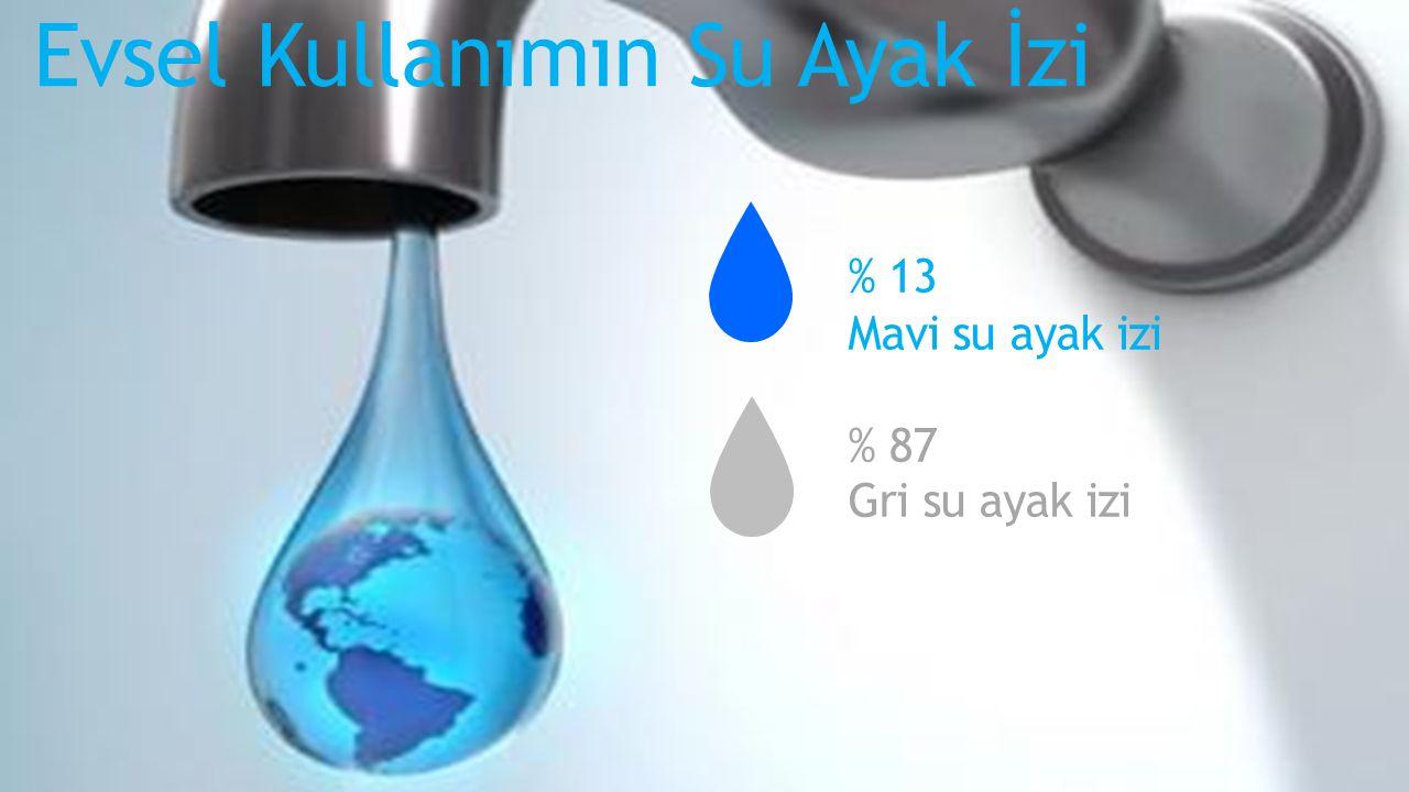 Evsel Kullanımın Su Ayak İzi