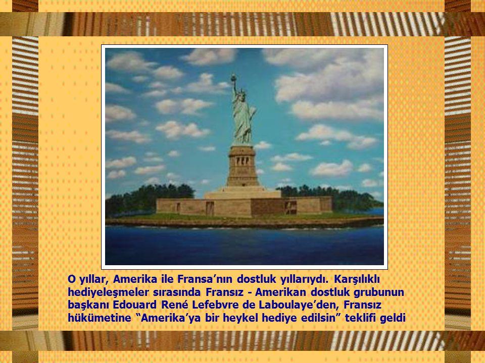 O yıllar, Amerika ile Fransa'nın dostluk yıllarıydı