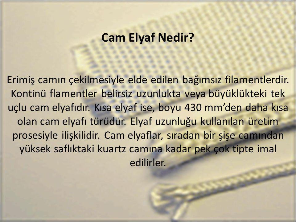 Cam Elyaf Nedir
