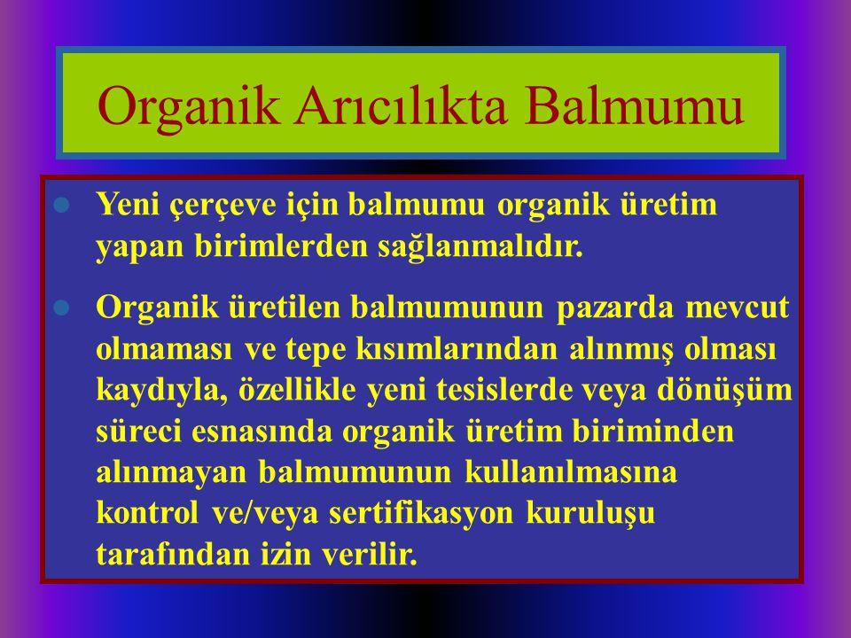 Organik Arıcılıkta Balmumu