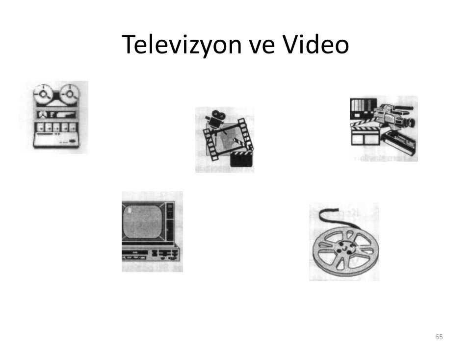 Televizyon ve Video