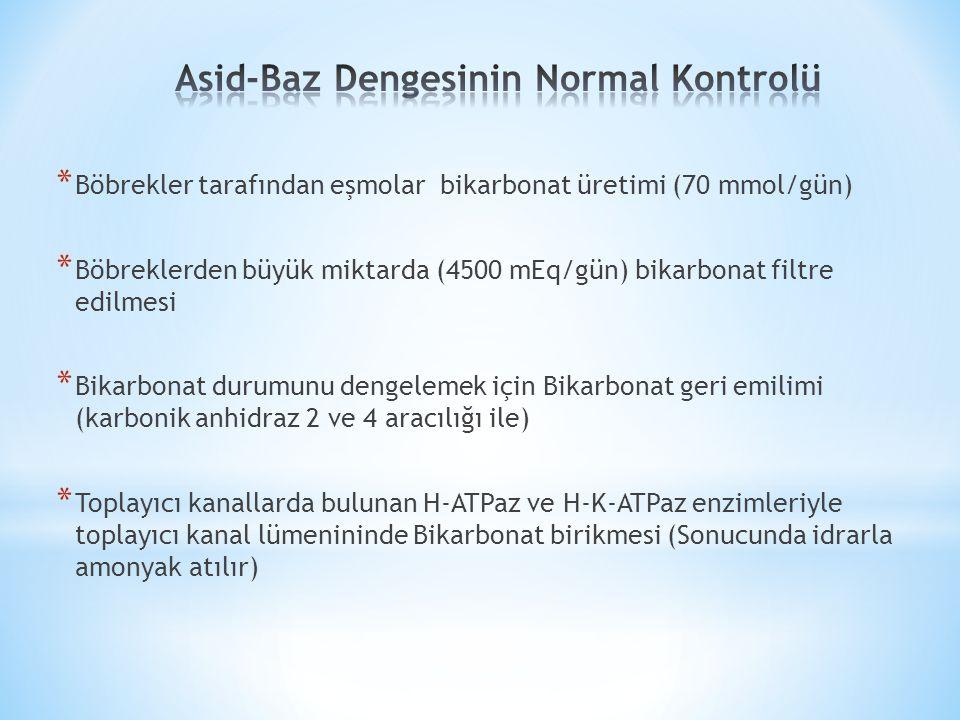 Asid-Baz Dengesinin Normal Kontrolü