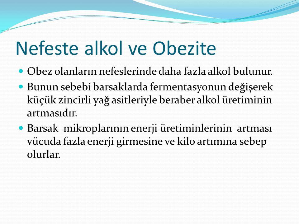 Nefeste alkol ve Obezite