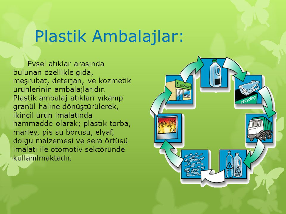 Plastik Ambalajlar: