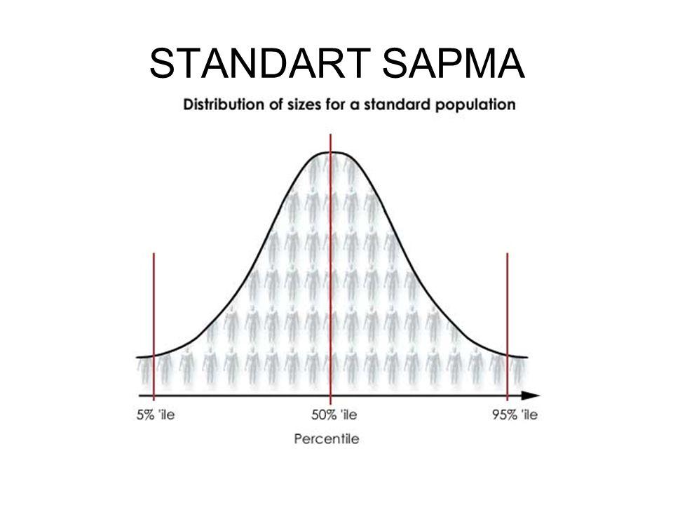 STANDART SAPMA