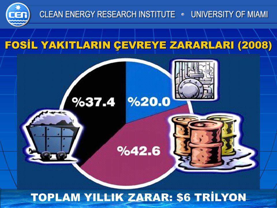 FOSİL YAKITLARIN ÇEVREYE ZARARLARI (2008)