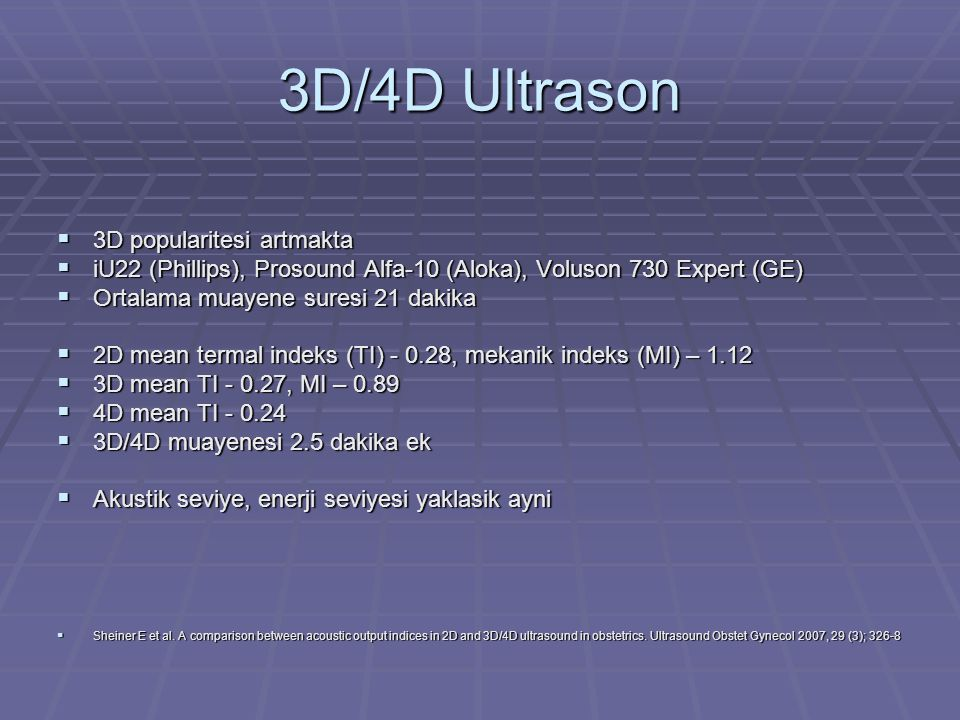 3D/4D Ultrason 3D popularitesi artmakta