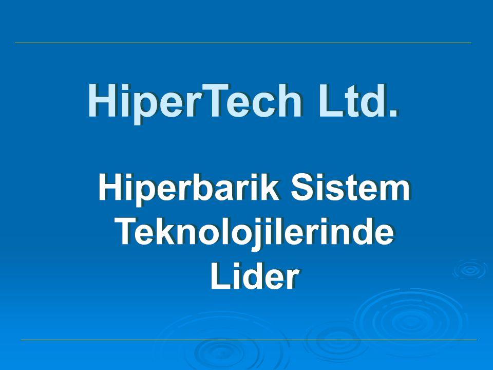 HiperTech Ltd. Hiperbarik Sistem Teknolojilerinde Lider