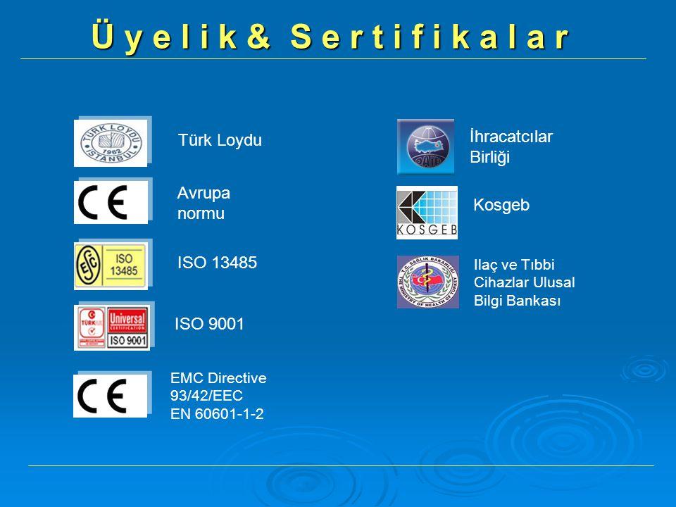 Ü y e l i k & S e r t i f i k a l a r İhracatcılar Birliği Türk Loydu