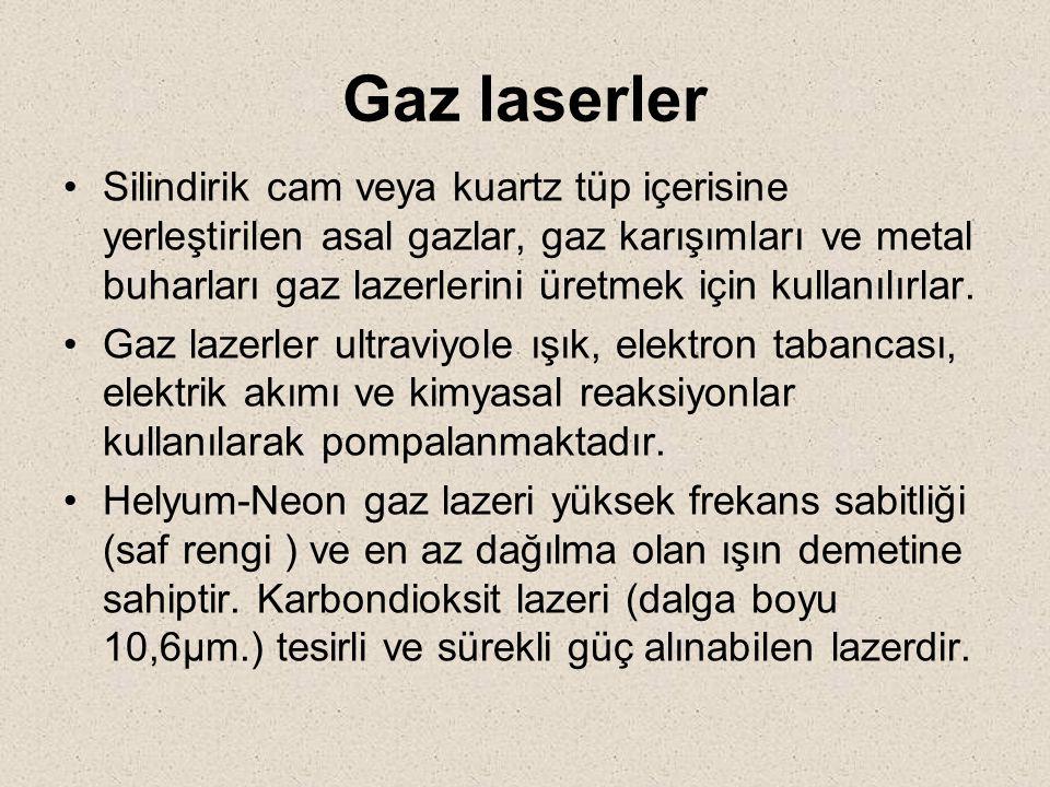 Gaz laserler
