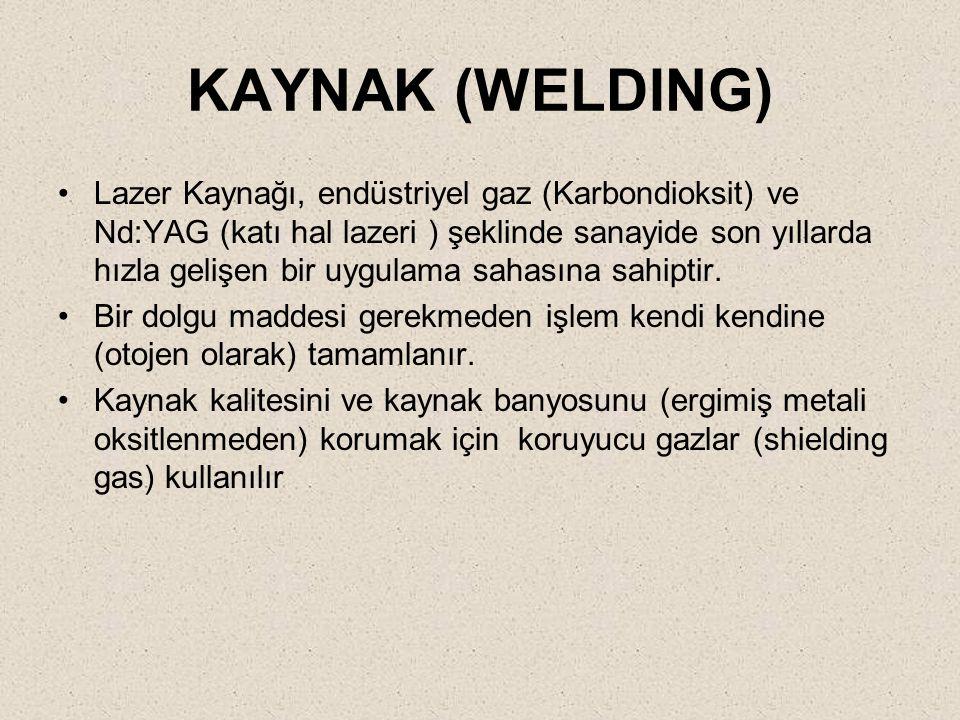 KAYNAK (WELDING)
