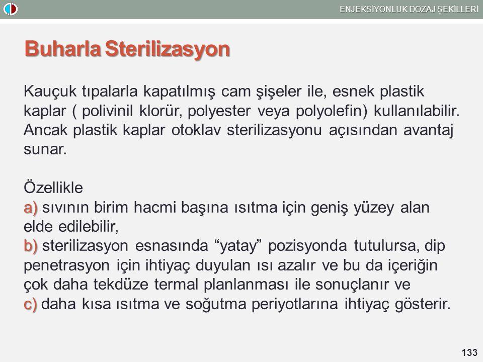 Buharla Sterilizasyon
