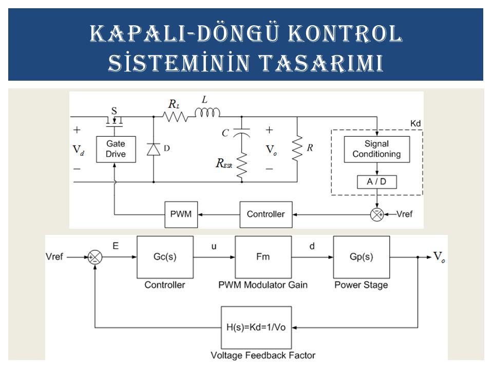 KAPALI-DÖNGÜ KONTROL SİSTEMİNİN TASARIMI