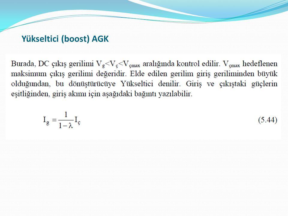 Yükseltici (boost) AGK