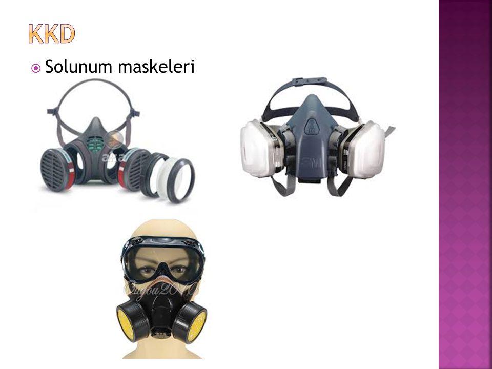 KKD Solunum maskeleri