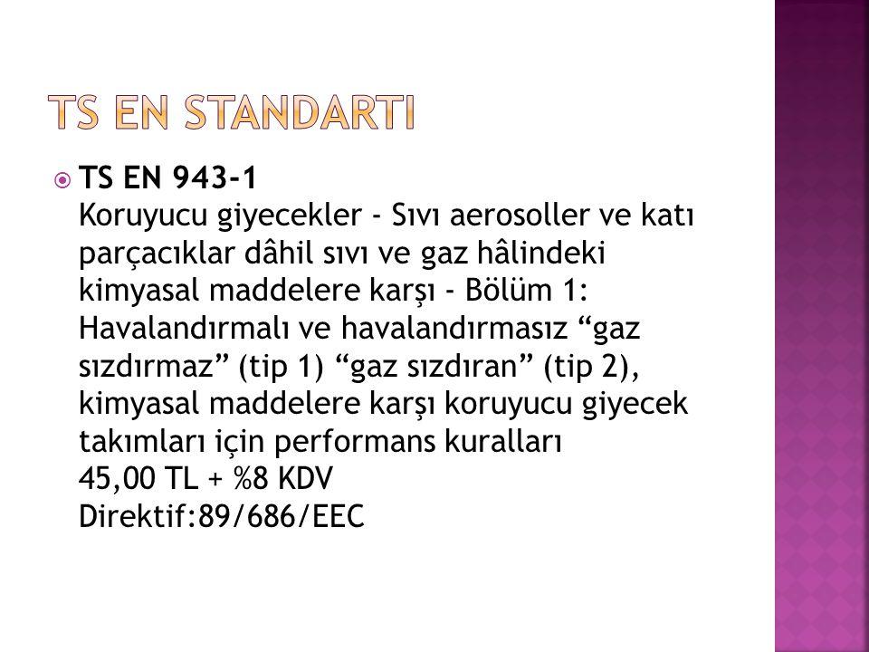TS EN StandartI