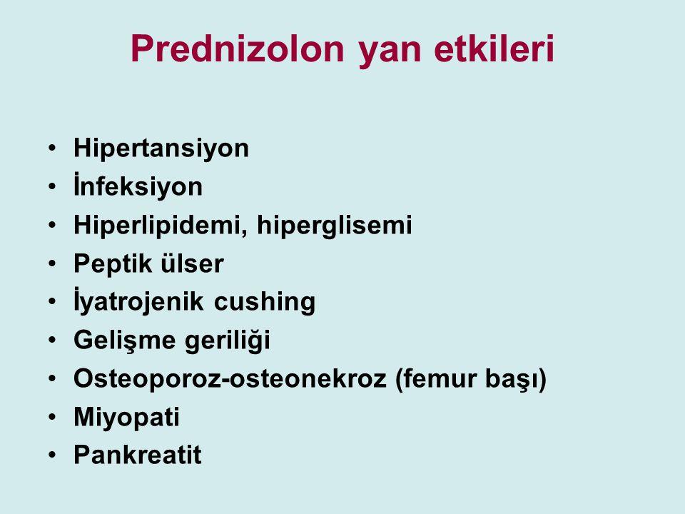 Prednizolon yan etkileri