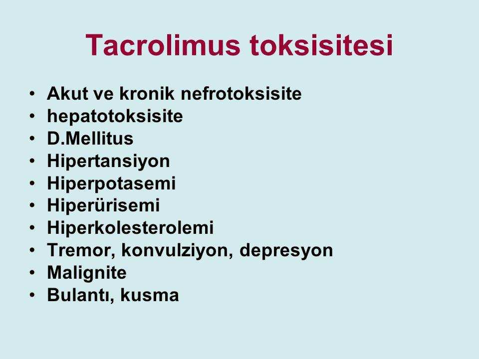 Tacrolimus toksisitesi