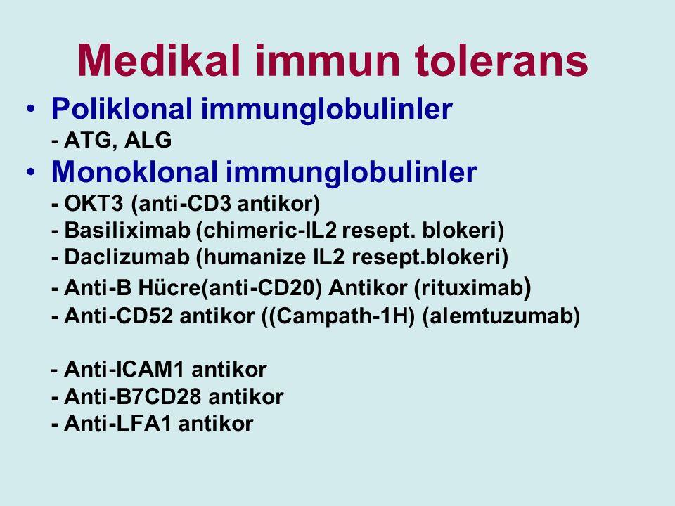 Medikal immun tolerans