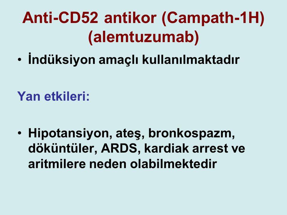 Anti-CD52 antikor (Campath-1H) (alemtuzumab)