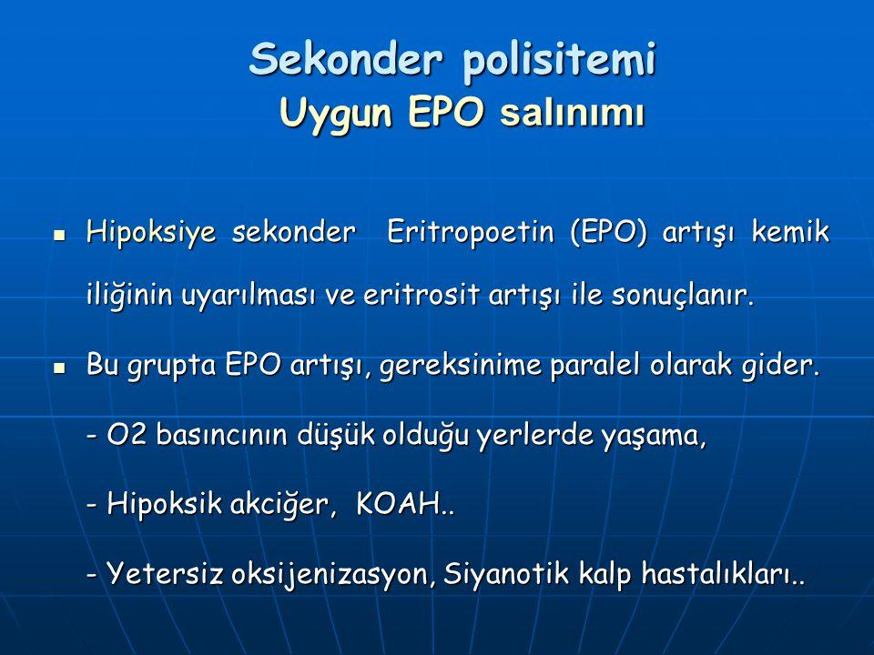 Sekonder polisitemi Uygun EPO salınımı