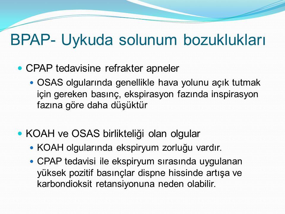 BPAP- Uykuda solunum bozuklukları