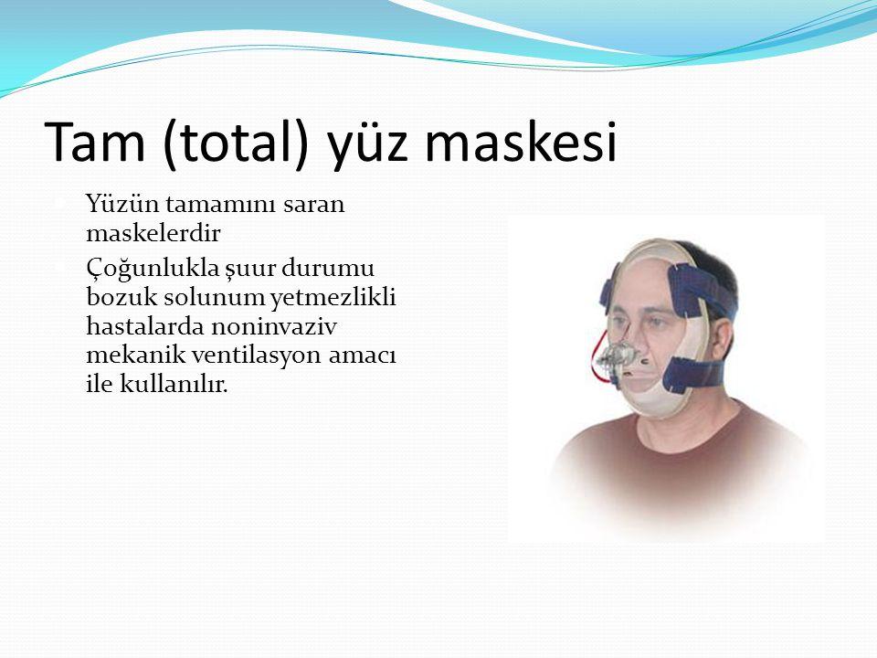 Tam (total) yüz maskesi