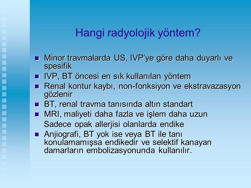 Hangi radyolojik yöntem