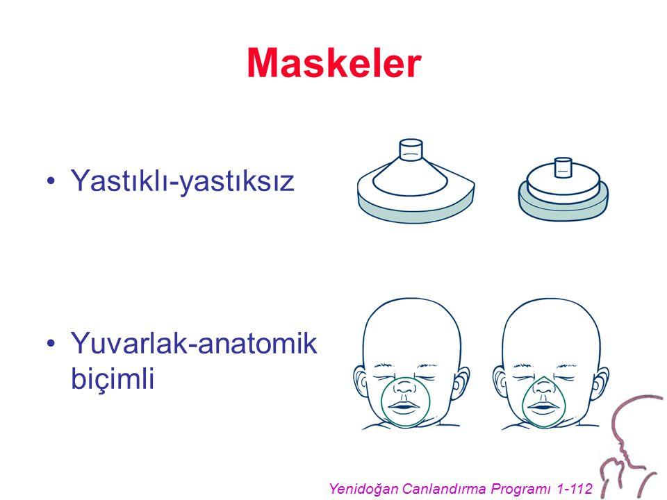 Maskeler Yastıklı-yastıksız Yuvarlak-anatomik biçimli
