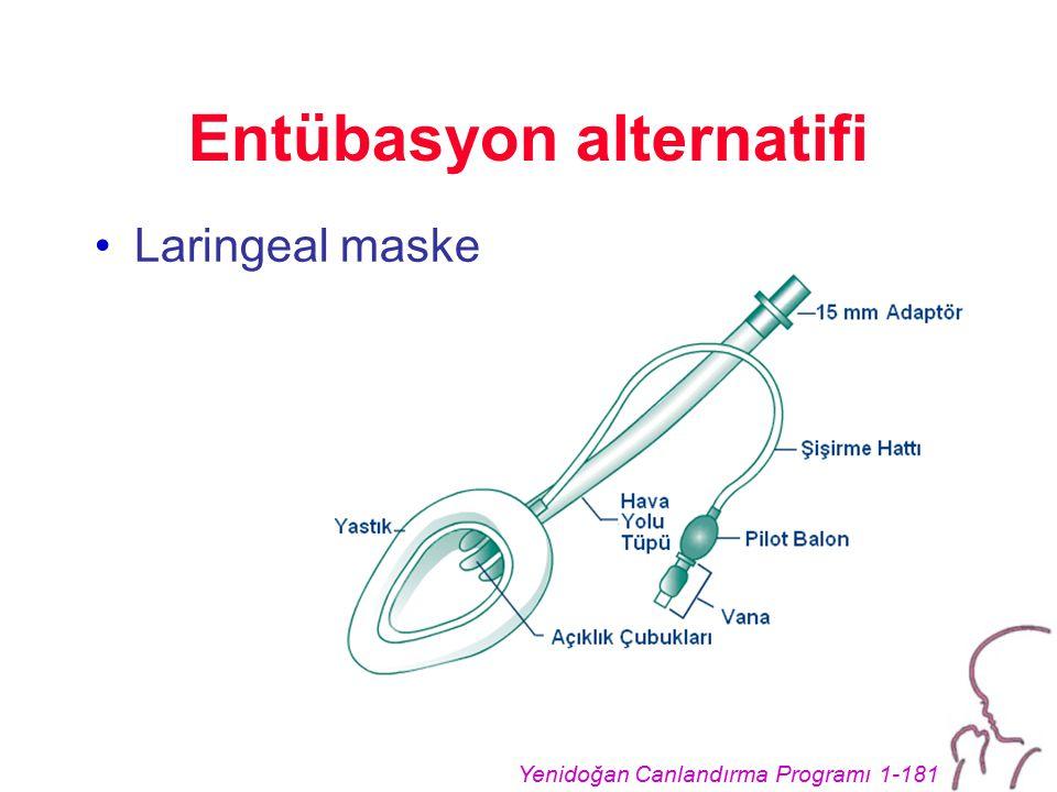 Entübasyon alternatifi