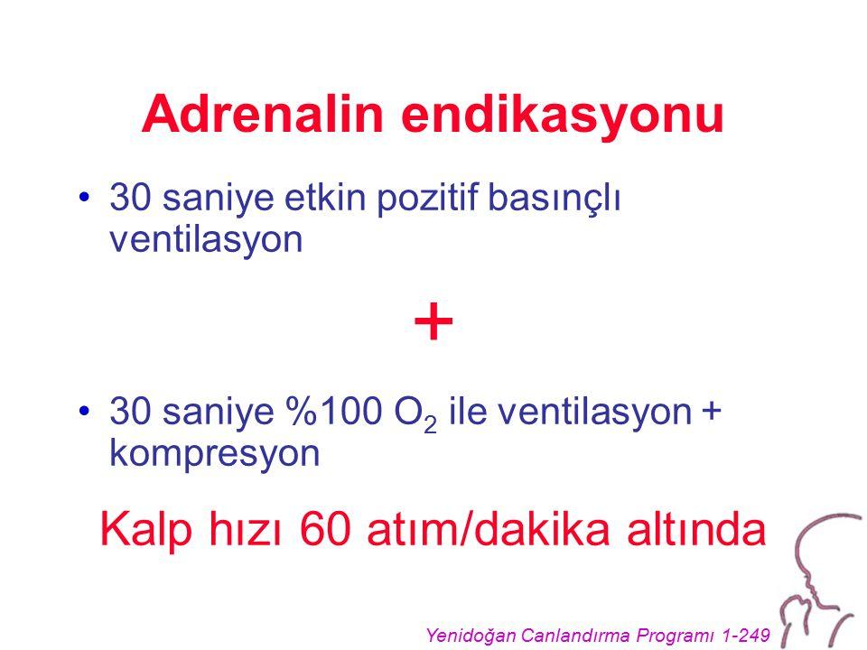Adrenalin endikasyonu