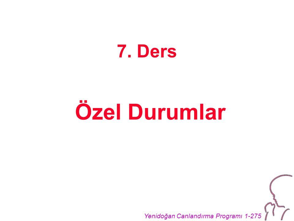 7. Ders Özel Durumlar