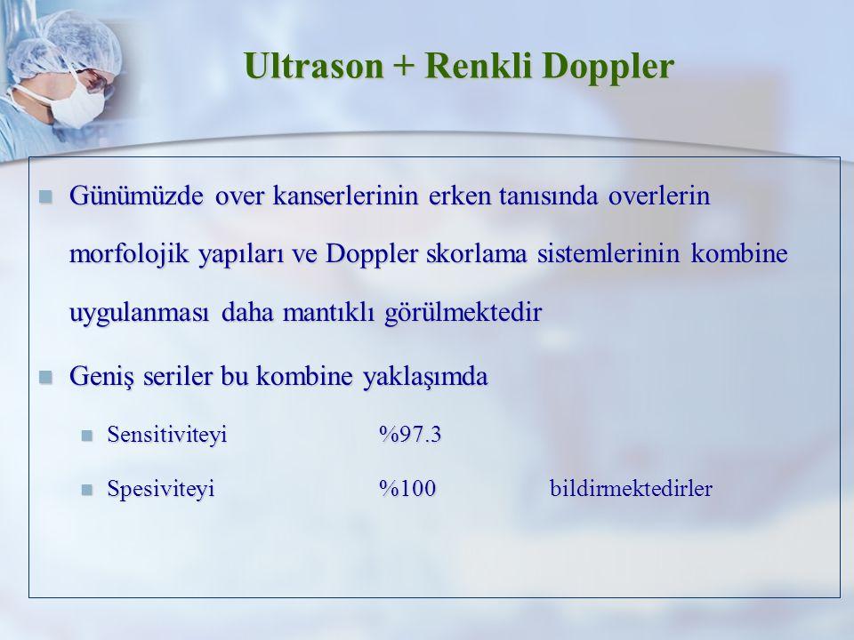 Ultrason + Renkli Doppler