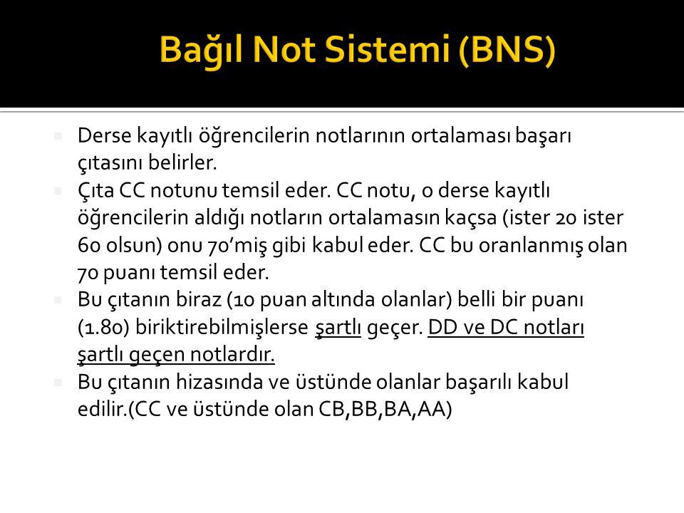 Bağıl Not Sistemi (BNS)