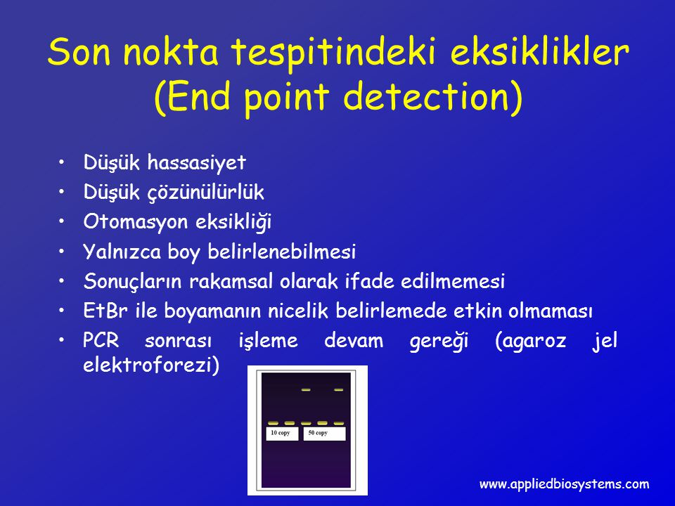 Son nokta tespitindeki eksiklikler (End point detection)