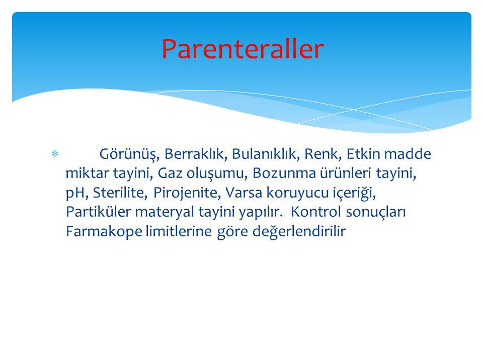 Parenteraller
