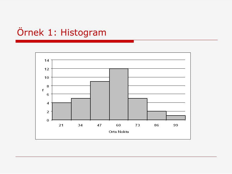 Örnek 1: Histogram
