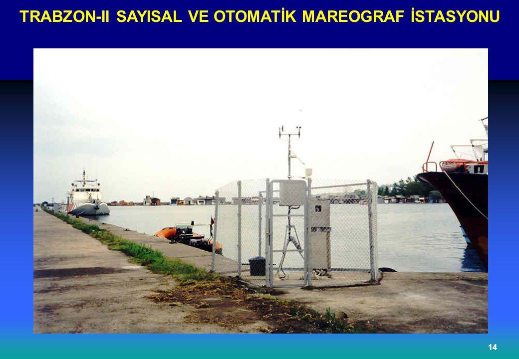 TRABZON-II SAYISAL VE OTOMATİK MAREOGRAF İSTASYONU