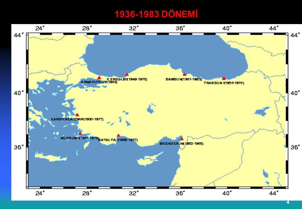 1936-1983 DÖNEMİ