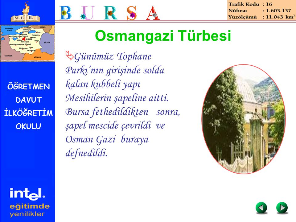 Osmangazi Türbesi